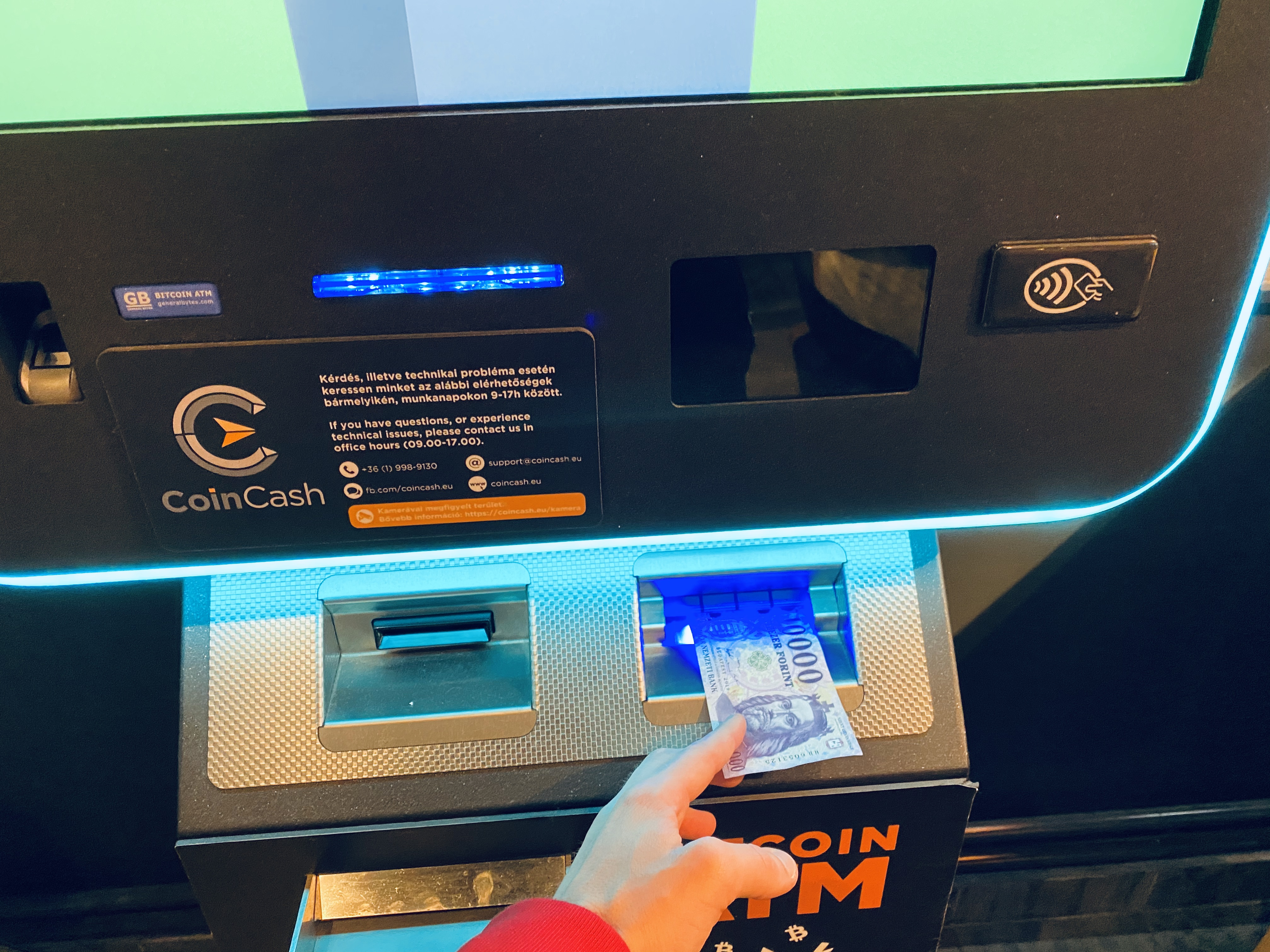 bitcoin atm withdrawal